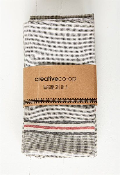 Set of 4 Chambray Napkins