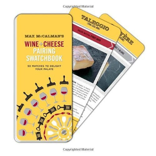 Max McCalman's Wine + Cheese Pairing Swatchbook