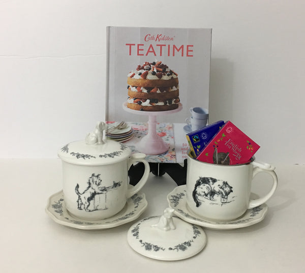 Teatime Recipes and Two Mugs
