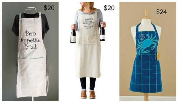 Cookbook & Apron Bundle WITH FREE MEASURING CUPS