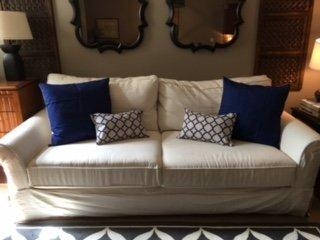 Blue & White Pillow Cover (Set of 4)
