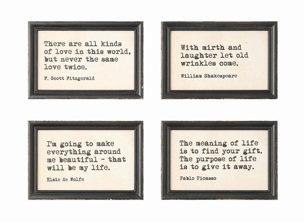 Wall Decor Words