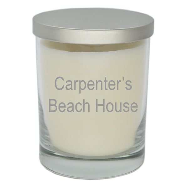 ECO-LUXURY JUST FLAME SOY CANDLE BEACH HOUSE