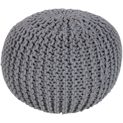 Malmo Solid Color Pouf