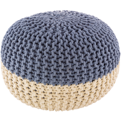 Two Tone Malmo Poof-