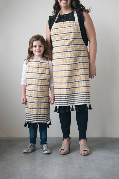 Cookbook and Adult/child Apron Set
