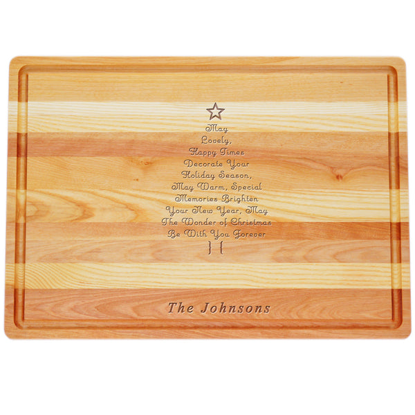 PERSONALIZED CHRISTMAS TREE MASTER COLLECTION: LARGE BOARD