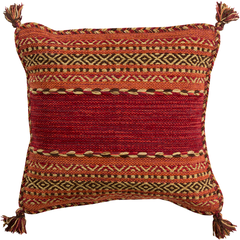 Textured Tasseled Pillow Covers