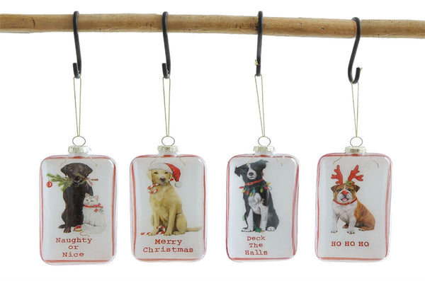Holiday Plates and Ornaments for the Dog-Lover