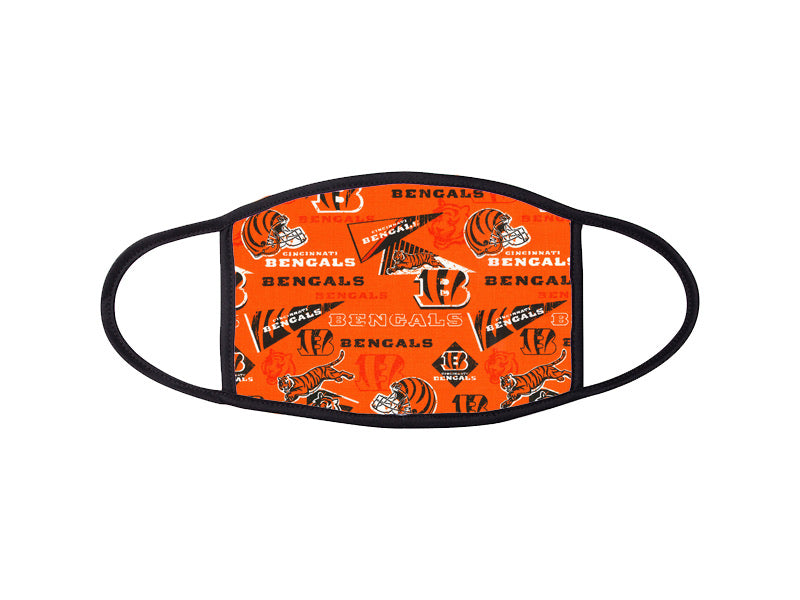 Cincinnati Bengals Custom Face Mask