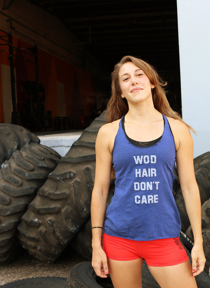 WOD Hair Don't Care Tank