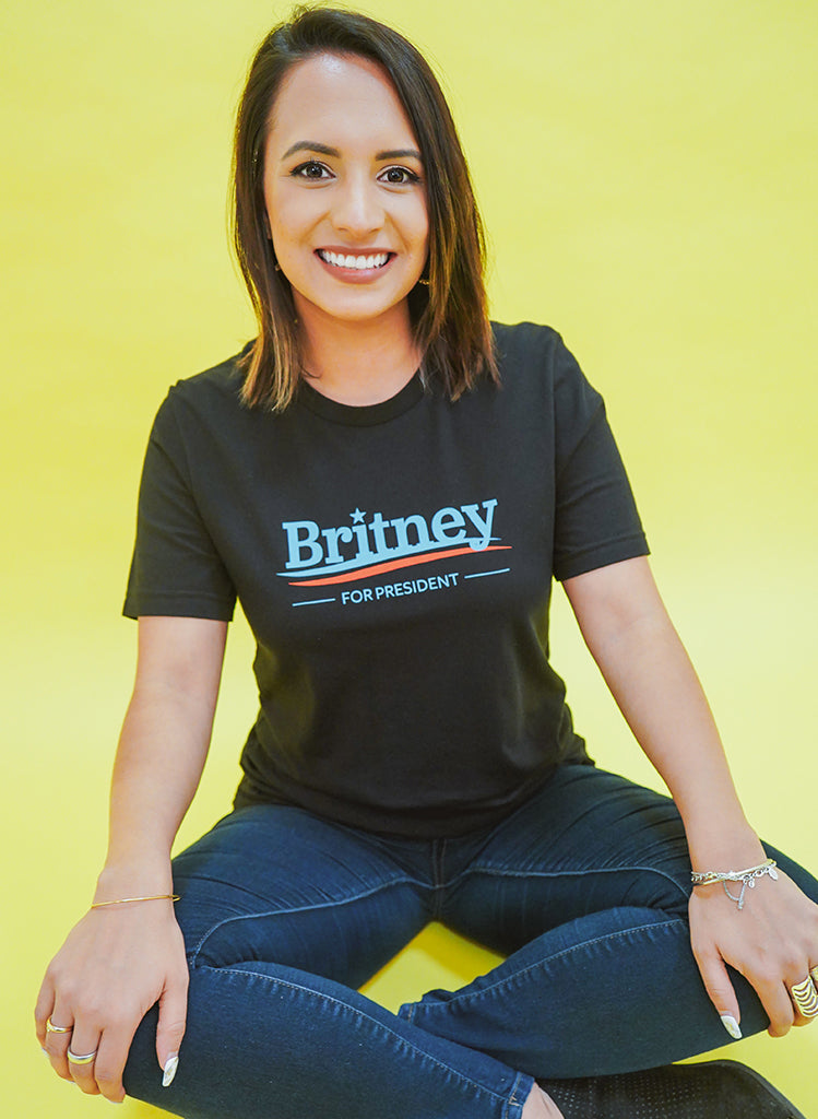 Britney for President in Black