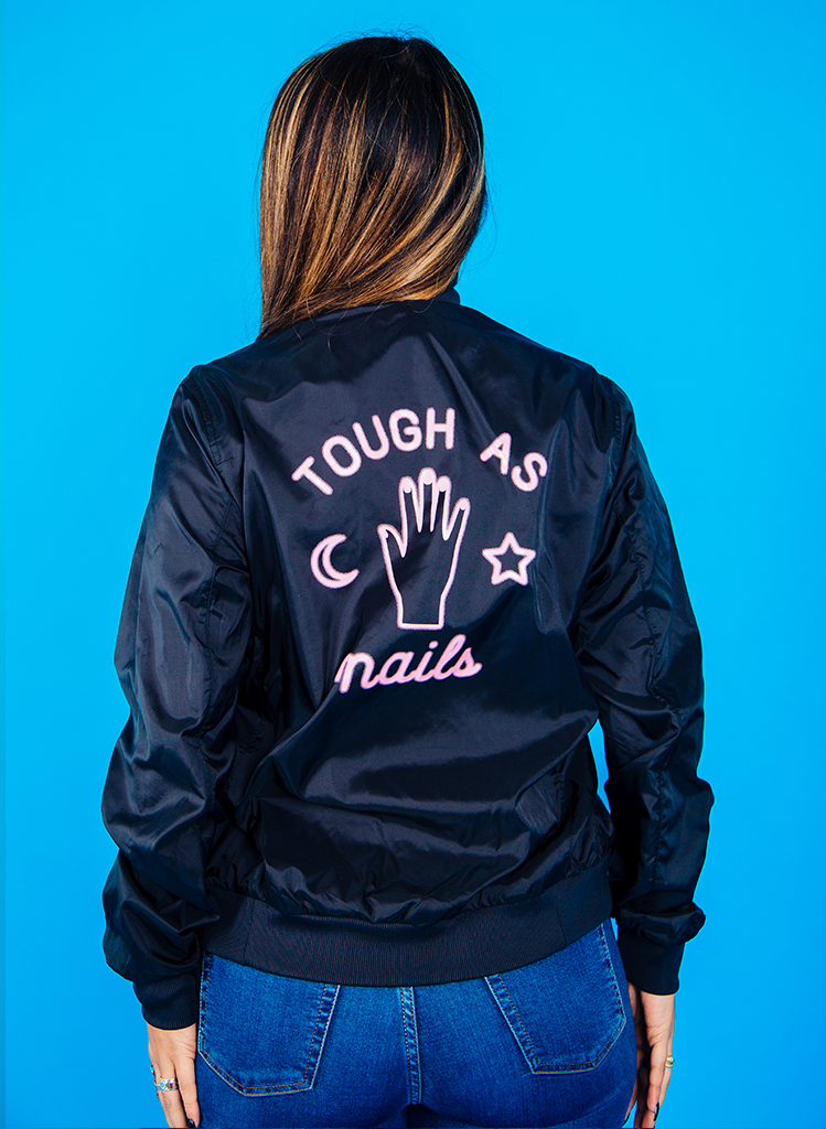 Tough as Nails Bomber Jacket