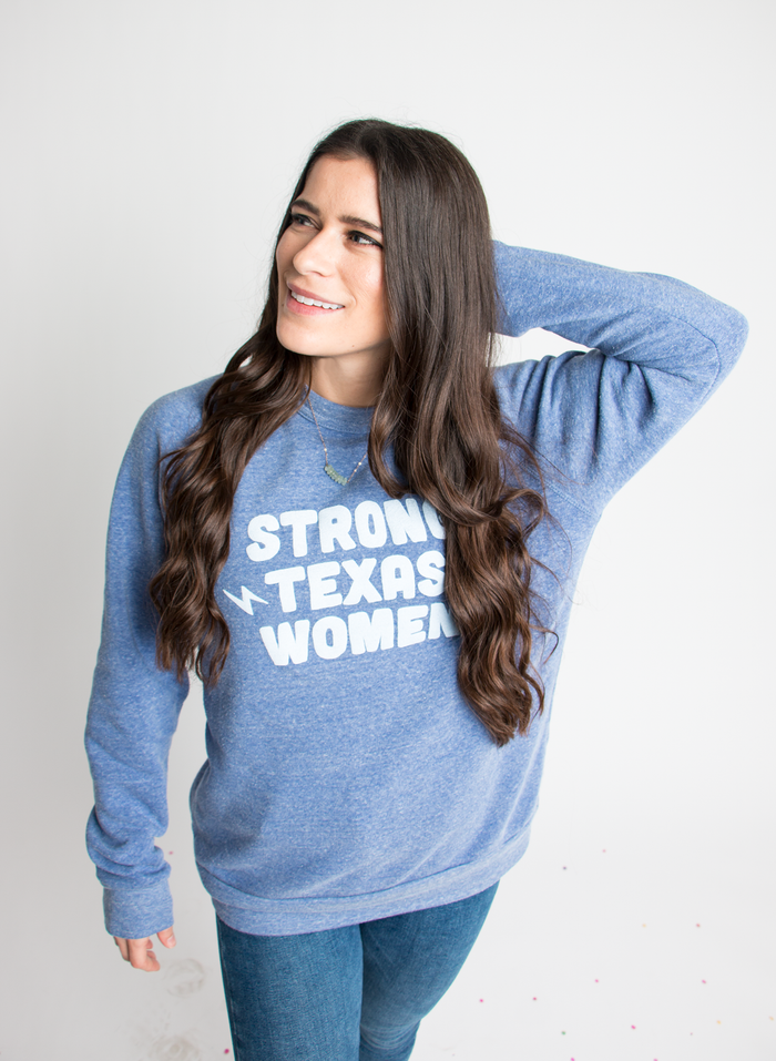 Strong Texas Women Sweatshirt