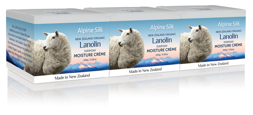 Alpine Silk Every Day Moisture Creme 100g 3 pack