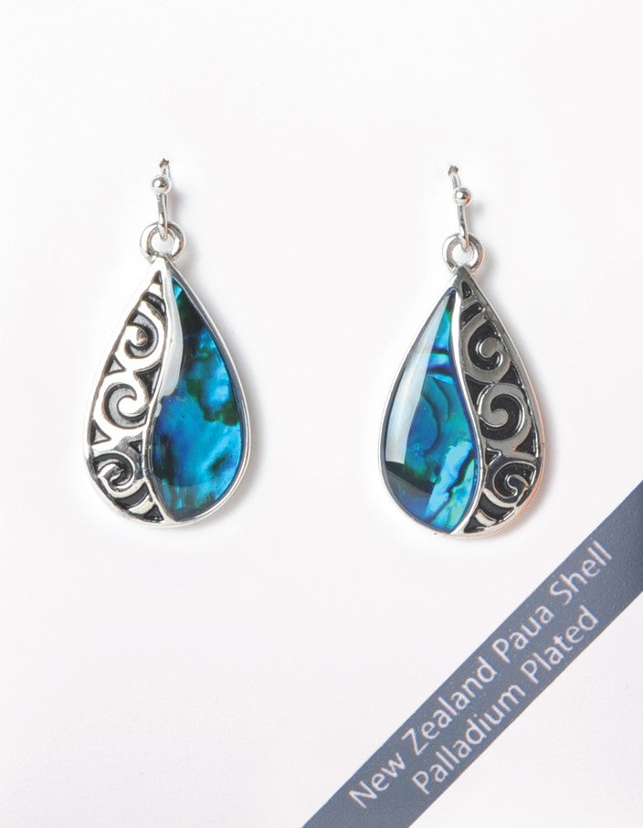 New Zealand Paua Shell Earrings