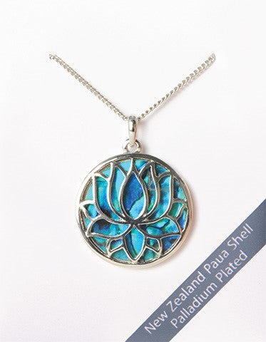 New Zealand Paua Shell Pendant