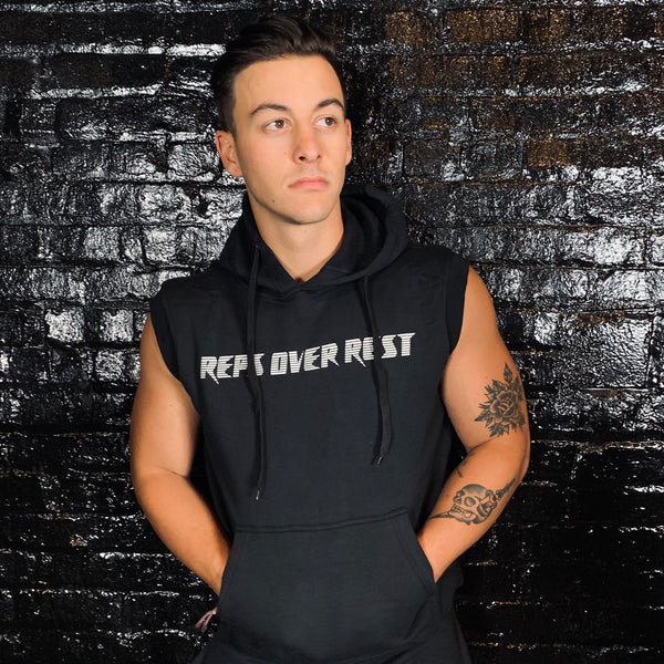Fleece Sleeveless Hoodie - Reps Over Rest