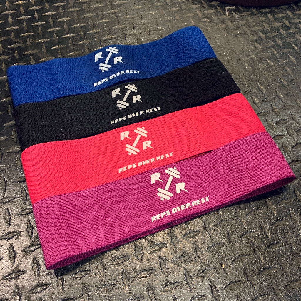 Fabric Resistance Bands - Reps Over Rest