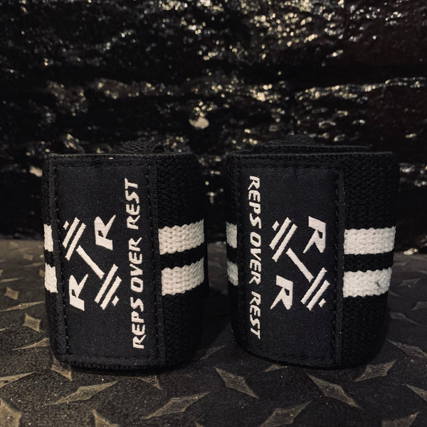 "16"" High Quality Elastic Wrist Wraps - Reps Over Rest"