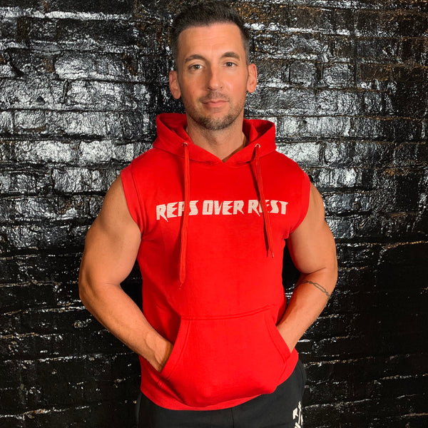 Fleece Sleeveless Hoodie