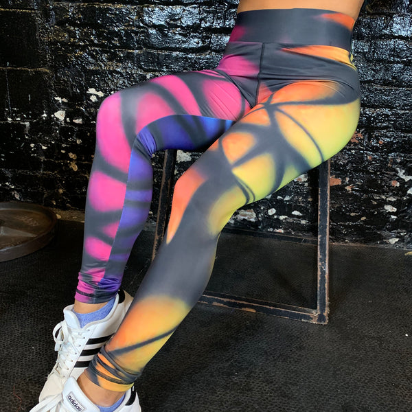 Kaleidoscope Leggings/Shorts - Reps Over Rest