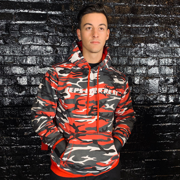Red Camo Lifting Sweatshirt
