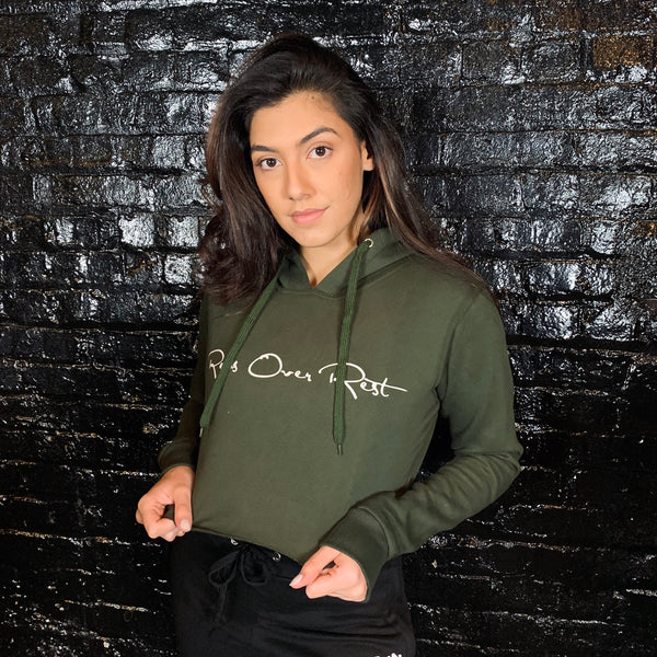 Fleece Lined Crop Hoodies - Reps Over Rest