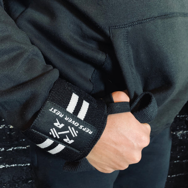 Solid Black Lifting Sweatshirt