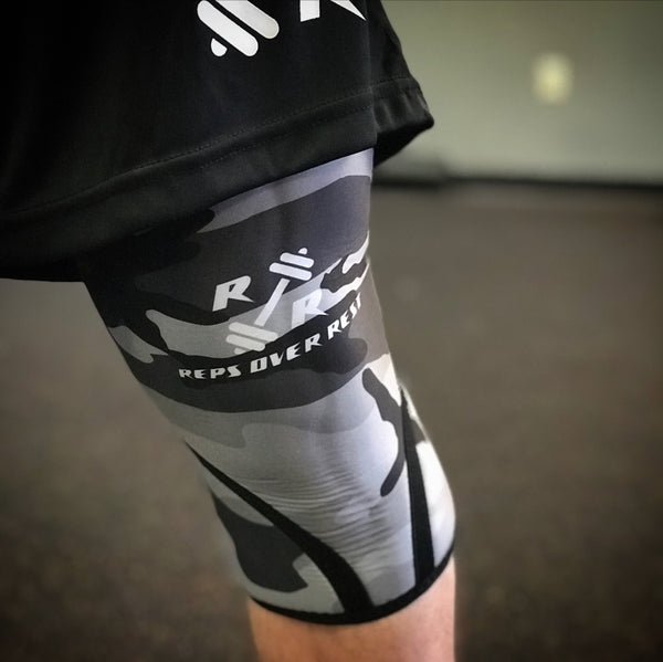Neoprene Knee Sleeves - Reps Over Rest