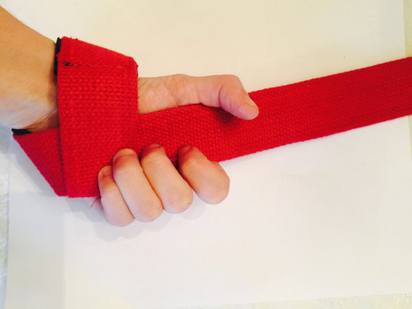 Heavy Duty Cotton Lifting Straps - Reps Over Rest