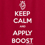 Keep Calm and Apply Boost - JBM Press  - 1