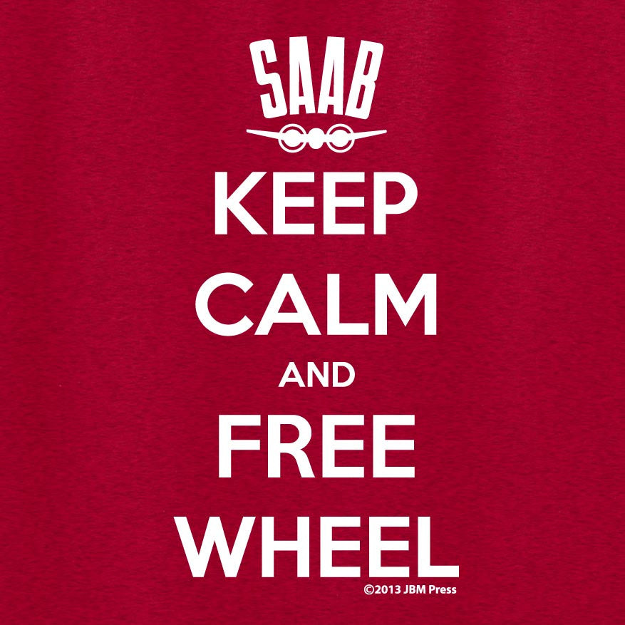 Keep Calm and Free Wheel
