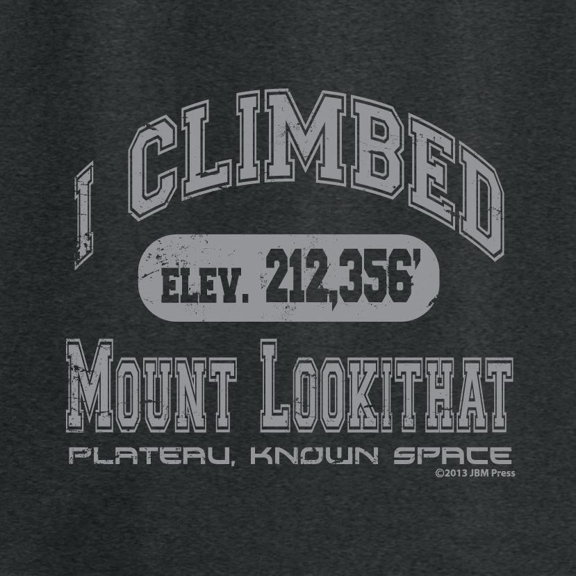 I Climbed Mount Lookithat