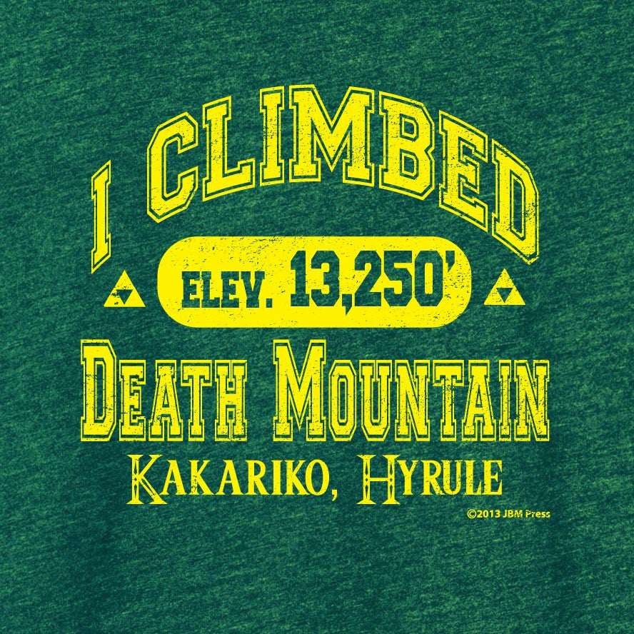I Climbed Death Mountain (Ladies Cut)