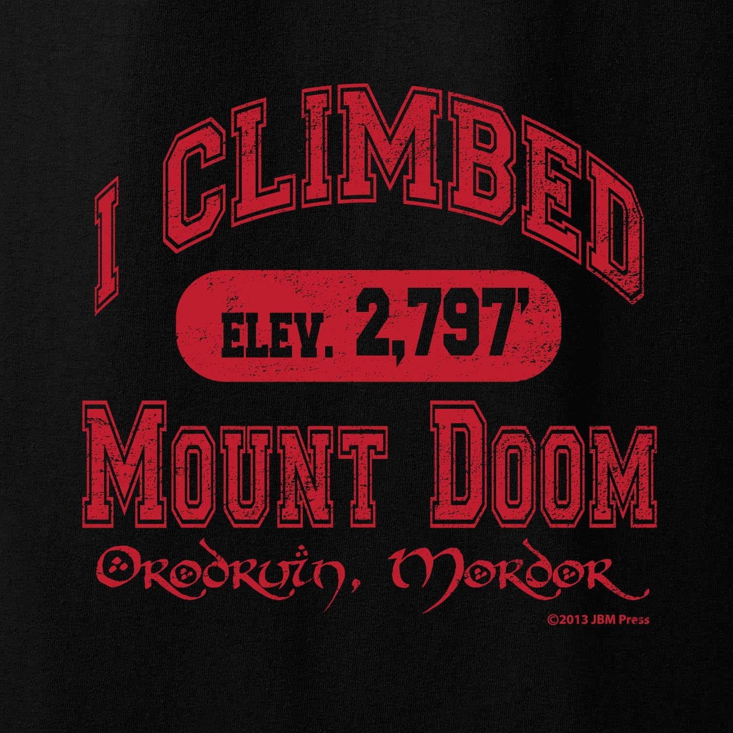 I Climbed Mount Doom - JBM Press  - 1