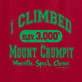 I Climbed Mount Crumpit