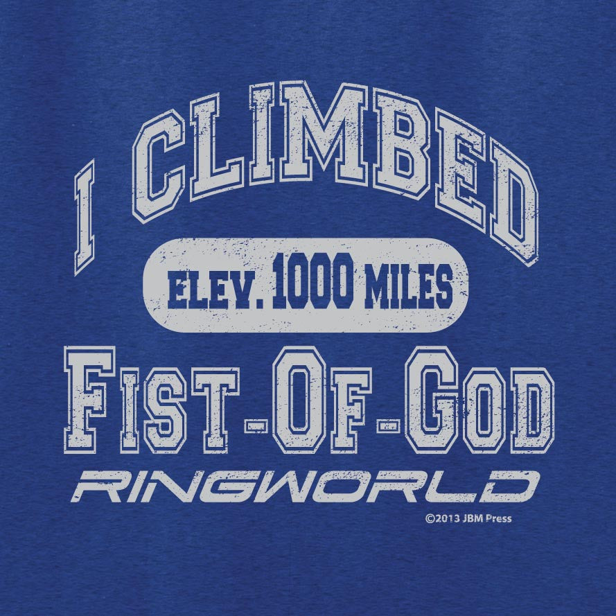 I Climbed Fist-Of-God
