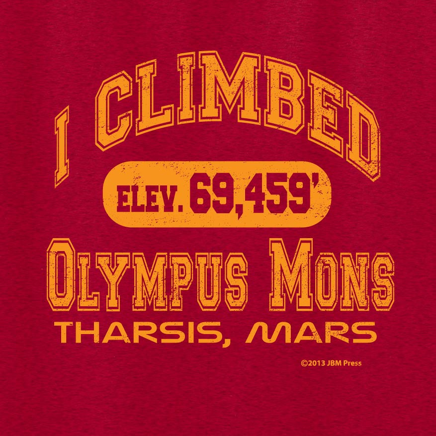 I Climbed Olympus Mons - JBM Press  - 1