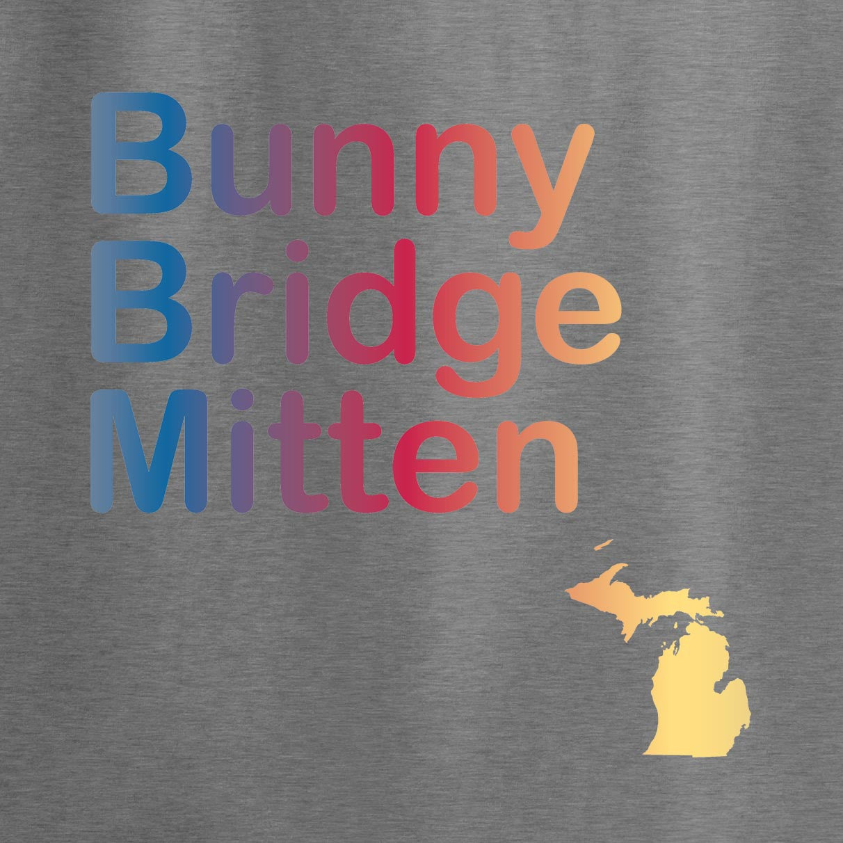 Bunny Bridge Mitten - JBM Press  - 1