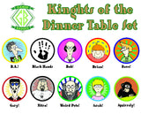 Knights of the Dinner Table Set - JBM Press