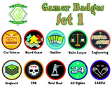 Gamer Badges, Set 1 - JBM Press