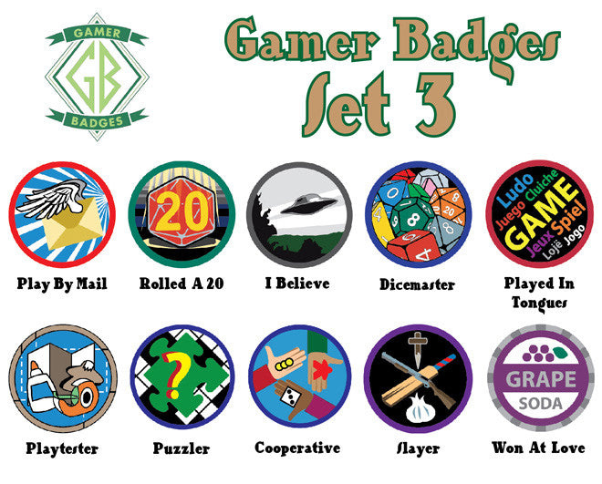 Gamer Badges, Set 3