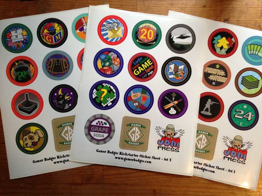 The Stickers! - JBM Press
