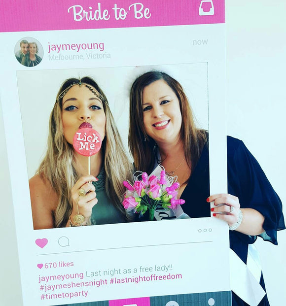 Bridal Shower Photo Booth Props Australia