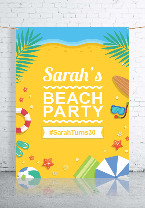 Party Theme Backdrops