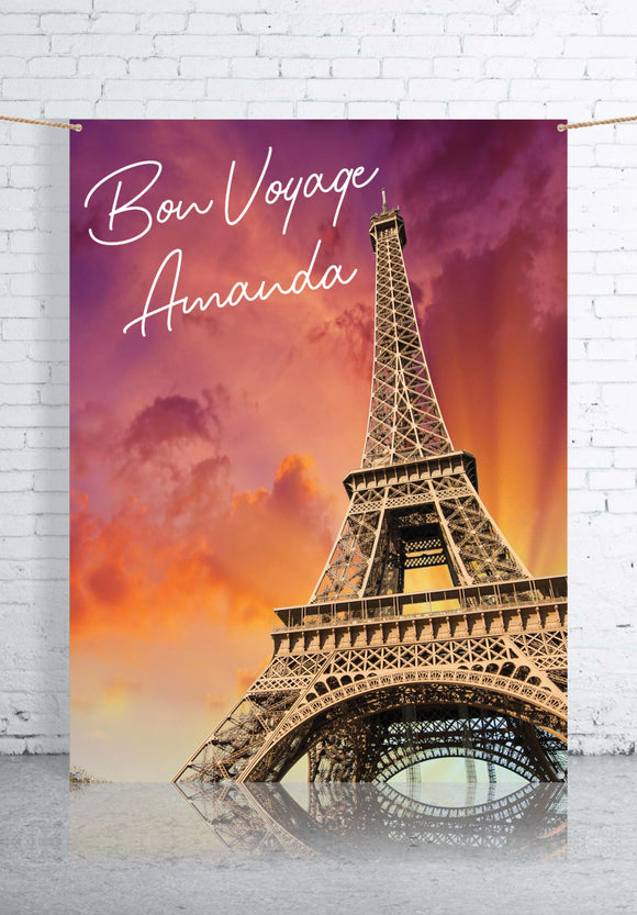 Travel Party Backdrops