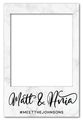 grey-marble-wedding-photo-booth-frame