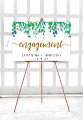 wild_leaves_engagement_party_welcome_sign_landscape