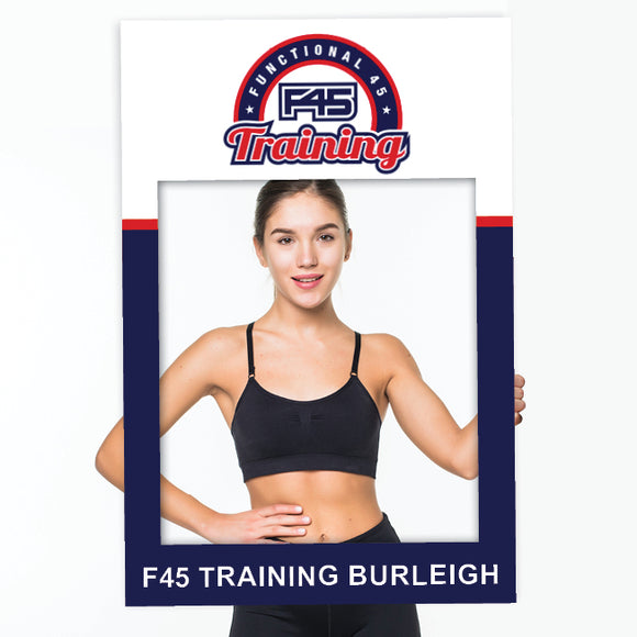 F45 Training Photo Booth Frame